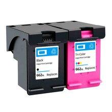 Befon Compatível HP 662 HP662 XL Cartucho de Tinta para Impressora HP Deskjet 1015 1515 2515 2545 2645 3515 3545 Printer