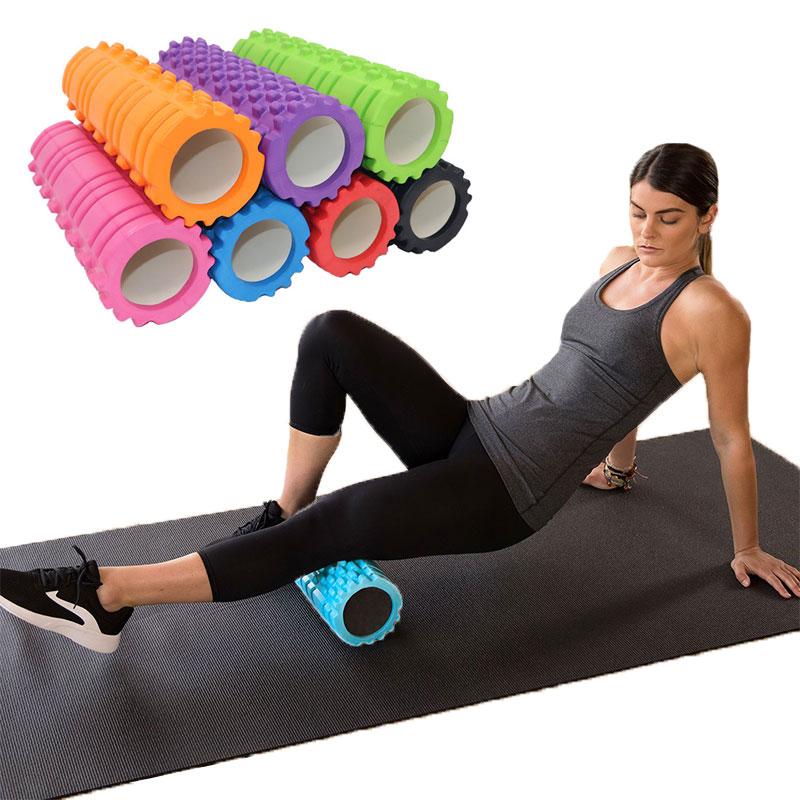 Pilates Fitness Yoga Column Gym Exercises Massage Muscle Foam Roller Yoga Blocks Relieve Joint Pain Mini Yoga Roller валик