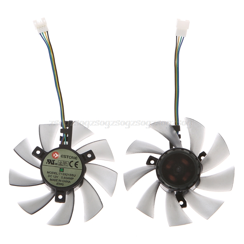 DIY T129215SU <font><b>Graphics</b></font> <font><b>Card</b></font> 4Pin Cooling Fan For <font><b>GTX</b></font> <font><b>460</b></font> Gigabyte <font><b>GTX</b></font> 1060 Au13 19 Droship image