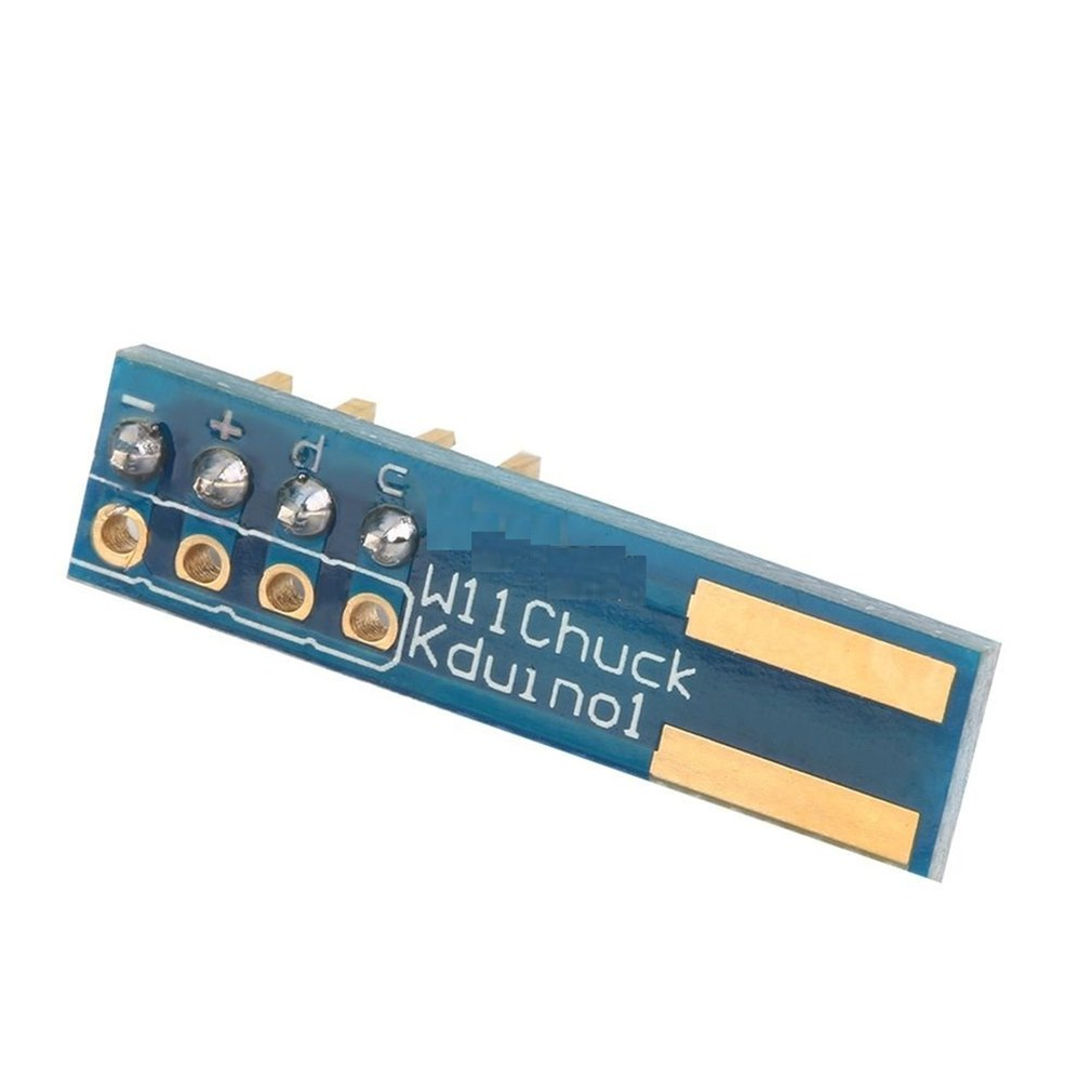 I2C Wii WiiChuck Nunchuck Adapter Shield Module Board For Arduino Module Environmentally Friendly Material