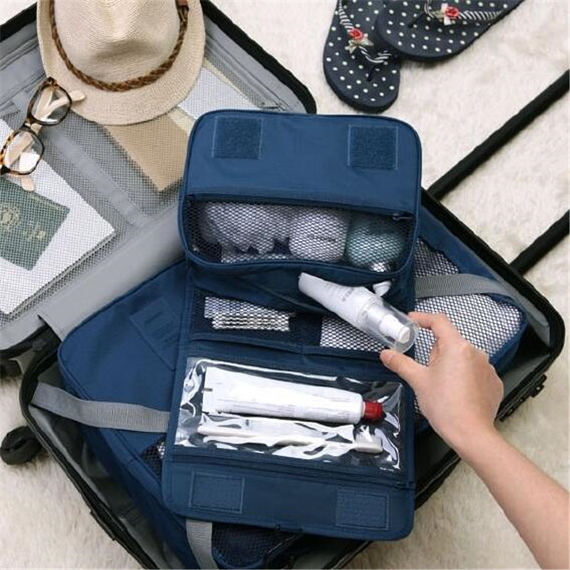 Travel Makeup Bag High Quality Waterproof Portable Man Toiletry Bag Women Cosmetic Organizer Pouch Hanging Wash Bags