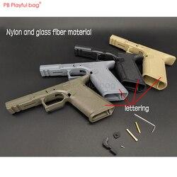 Bolso juguetón al aire libre CS deporte P1 especial P80 receptor inferior juguete de bala de agua accesorios de reposición mango inferior Multicolor LD86