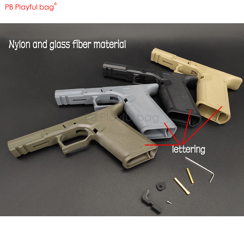 Playful Bag Outdoor CS Sport P1 Special P80 Lower Receiver Water Bullet Toy Refitting Accessories Lower Handle Multicolor LD86