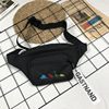 Female Cute Cartoon Dinosaur Embroidery Waist Bag