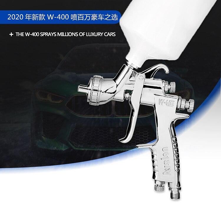 Free Shipping, W-400 Spray Gun,W400 Painting Gun,HVLP Manual Gun,gravity Feed Type,car Repair Painting,good Atomization