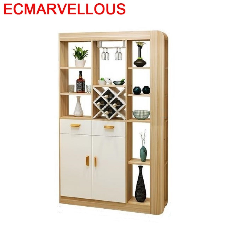 Vinho Mesa Hotel Table Shelf Meja Vetrinetta Da Esposizione Meble Kast Storage Commercial Furniture Mueble Bar Wine Cabinet