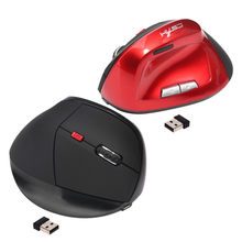 Best Selling Hxsj Brand Vertical Charging Wireless Game Mouse Health Mouse Suitable for Amazon Wish EBay(China)