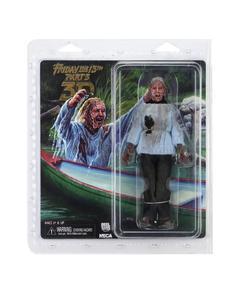 Image 2 - NECA 3D Friday The 13th Deel 3 Jason Moeder PVC Action Figure Speelgoed Pop 18cm