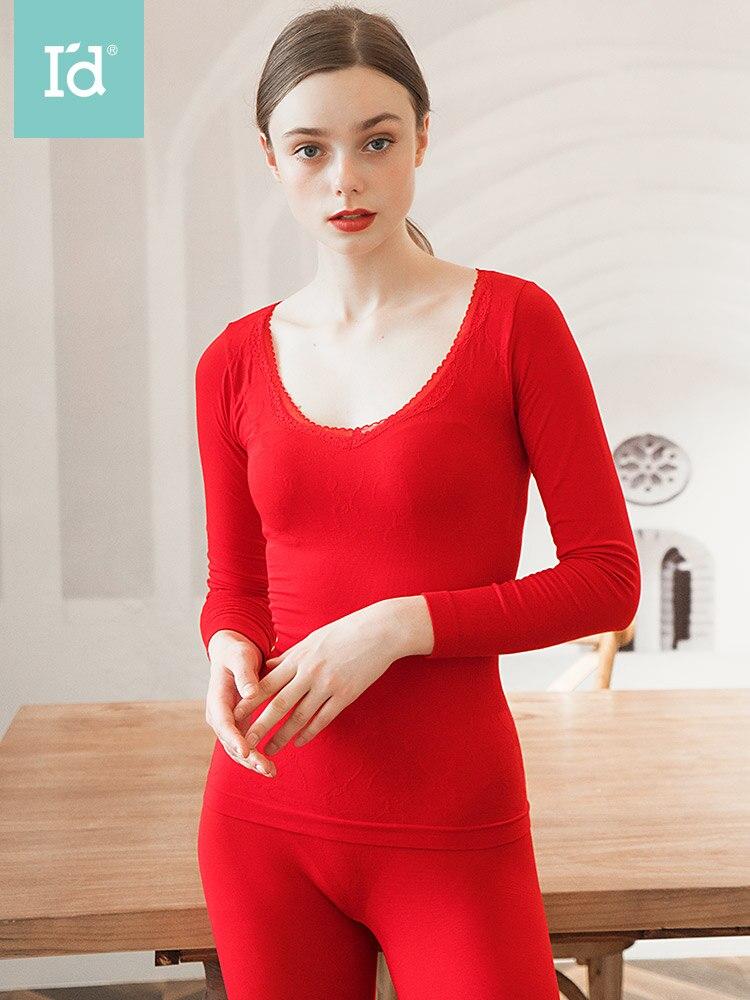 Winter Sexy Thermal Underwear Suit Women Body Shaped Slim Ladies Intimate Sets Female Pajamas Warm