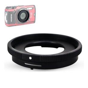 Image 2 - Filter set UV CPL ND FLD Graduated Colour Star & Adapter Ring Lens Hood Cap for Olympus TG 6 TG 5 TG 4 TG 3 TG 2 TG 1 Camera