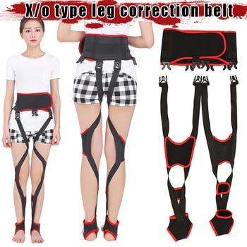 Day Night Dual-use X/O Legs Straightening Belt Leg Posture Corrector Comfortable Adjustable Straps MSU99