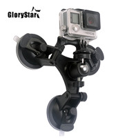 Mini Action Kamera Saugnapf für GoPro Hero 9 8 7 5 Schwarz SJCAM SJ7 Yi 4K H9 Gehen pro 7 Osmo Montieren Fenster Glas Sauger Zubehör