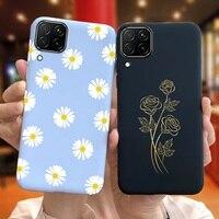 Funda de teléfono para Huawei P40 Lite, carcasa trasera con patrón encantador para Huawei P40 P 40 Lite, Funda suave para teléfono