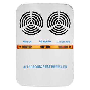 New Double-Horn Electromagnetic Ultrasonic Mouse Insect Control Repeller US Plug-in Electric Pest Bug Mosquito Cockroach Repelle
