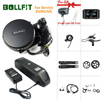 8fun Bafang 48V 500W BBS02B M315 Mid Drive Central Engine DP 5C Electric Bike Bicycle Motor Kits With Battery Function