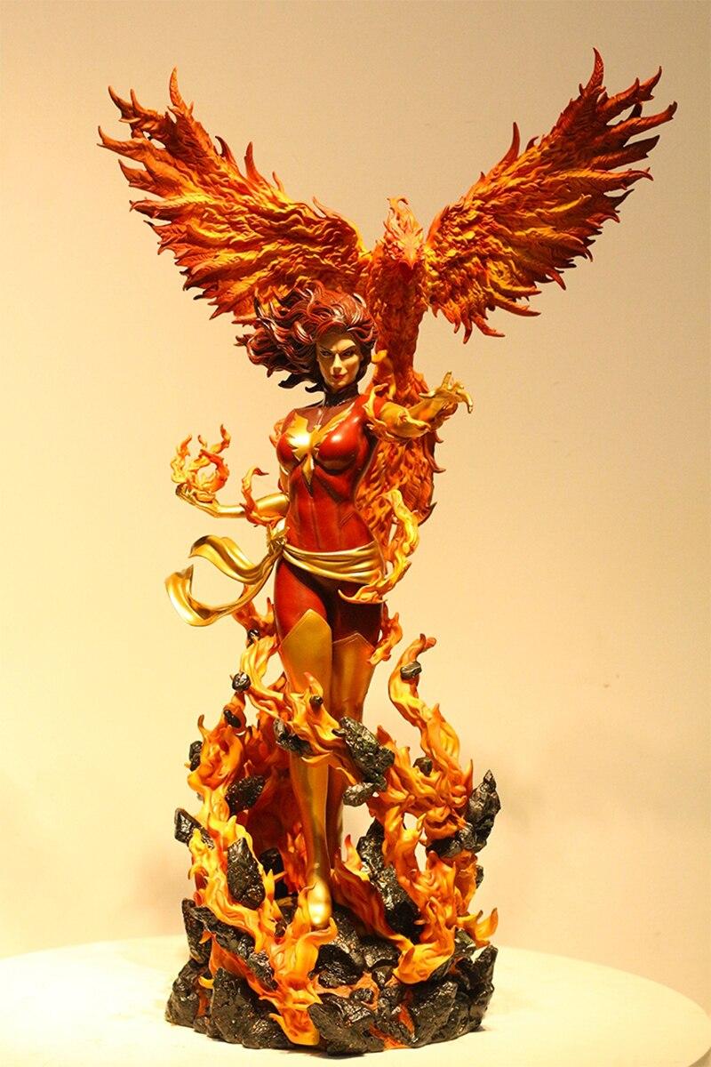 GK Beautiful Girl  Black Phoenix DarkPhoenix Figure 1