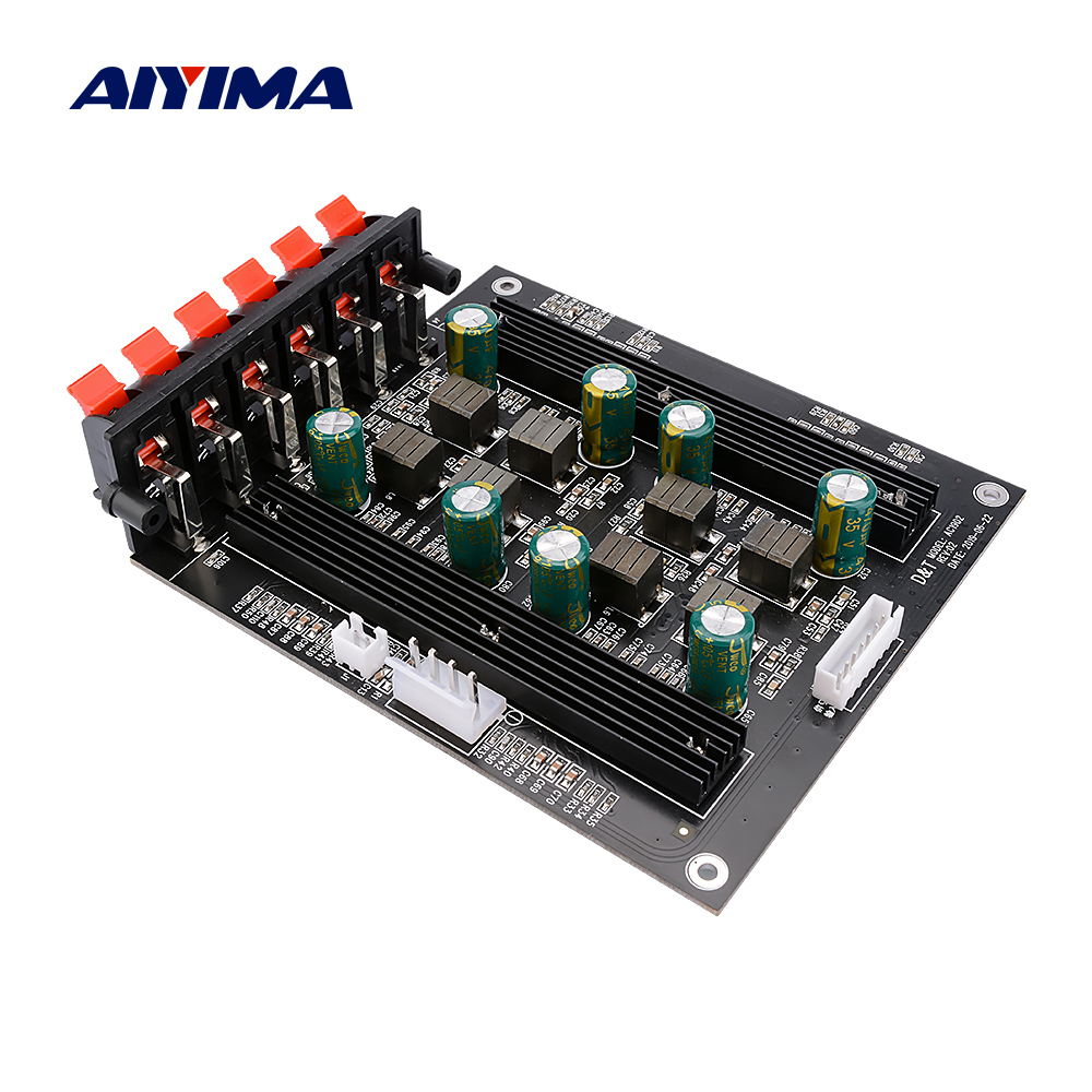 AIYIMA TPA3116 5.1 Digital Power Amplifier Audio Board Amplificador 50Wx4 100Wx2 Speaker Amplifier DIY 5.1 Home Sound Theater