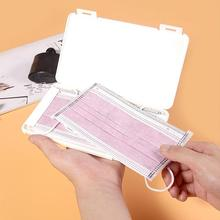 Mask-Box Folder Storage-Case Moisture-Proof-Storage-Box Dustproof Portable Bill Student