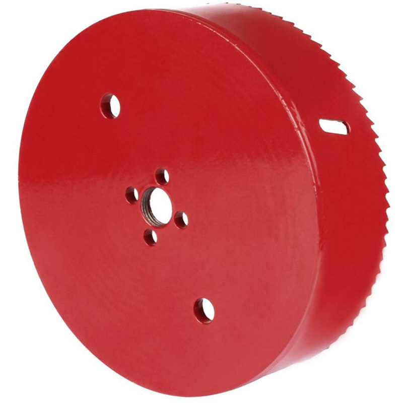 ABSF Hole Saw Blade For Plywood, Iron Plate, Acrylic, Duck, Ceiling Light, Ash Wall, High Speed Steel Cutting