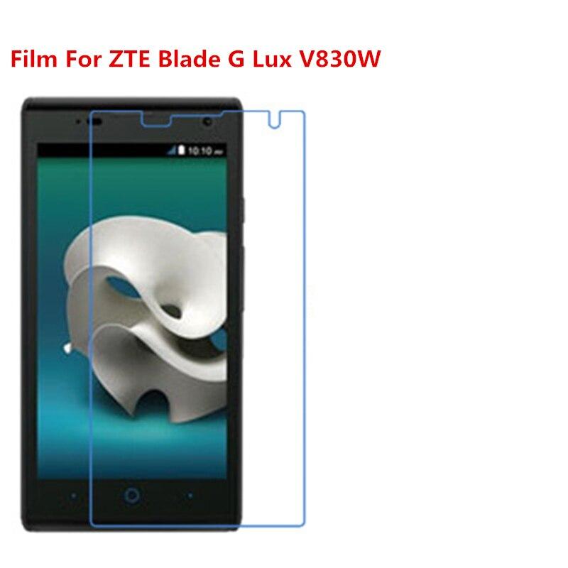 1/2/5/10 шт. ультратонкая прозрачная защитная пленка для HD ЖК-экрана с тканевой пленкой для очистки для ZTE Blade G Lux/V830W