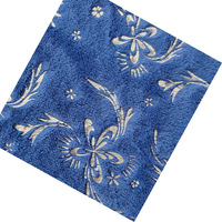 160x500cm Pv velvet polyester bronzed knitted fabric wholesale width160cm 270gsm blue