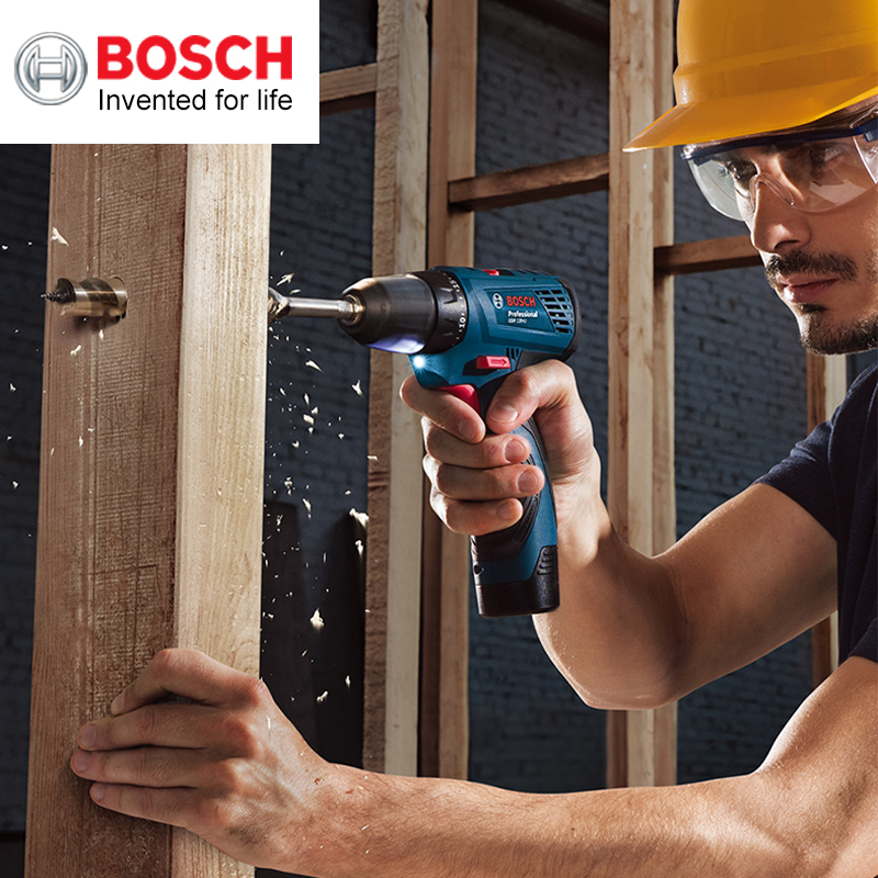 Tools : Bosch Hand Drill GSR 120-Li Electric Screwdriver 12V Lithium Drill Household Power Tool Screwdriver With One Battery