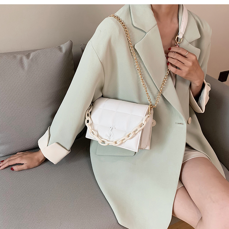 All-match Chain Women's Mini Bag 2020 Popular New Style Fashion Shoulder/Crossbody Bag Net Red Portable Square Sling Bag