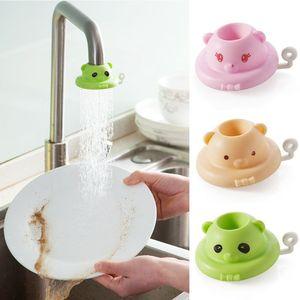 Кран-распылитель на 360 градусов с мультяшным рисунком, кухонный вращающийся водопроводный кран, аксессуары для ванной комнаты, кухонный кра...