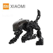 XIAOMI MIJIA 52 צעצועי אוניברסלי סדרת תכנית Alien דגם צעצוע פעולה איור לעוות רובוט 5cm לילדים קוביית מתנה