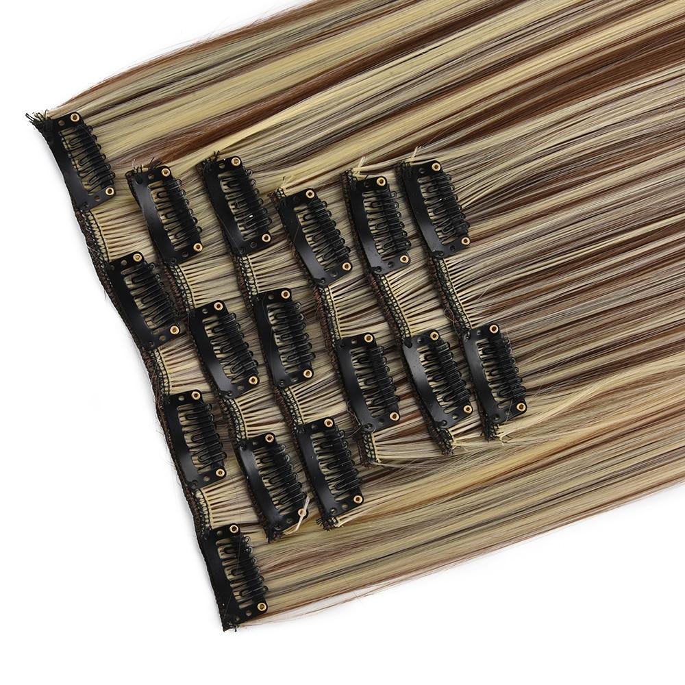 grampo em extensoes do cabelo 6 pcs 04