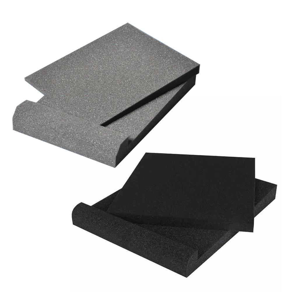 Instrument Parts Studio Monitor Isolation Pads High Density Acoustic Foam For Most Speaker Stands Gadgets Supplies Random Color