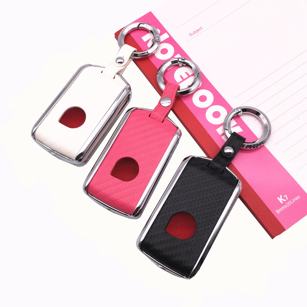 Car Remote Flip Key Fob Shell Cover Case Galvanized Alloy For Volvo XC40 XC60 S90 XC90 V90 2017 2018 T5 T6 2015 2016 T8|Key Case for Car| |  - title=