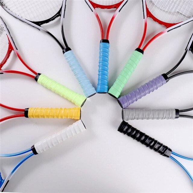Non-slip Tennis Racket PU Tennis Overgrip Sweat-absorbent Belt Badminton Grip Sports Sweat-absorbent Tennis Accessories 1