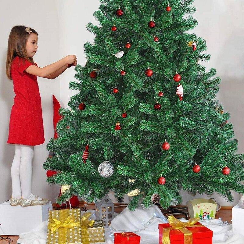 LBSISI-Life-Christmas-Tree-Plastic-Premium-Artificial-Christmas-Tree-White-Tree-Art-Navidad-Xmas-Decoration-Tree