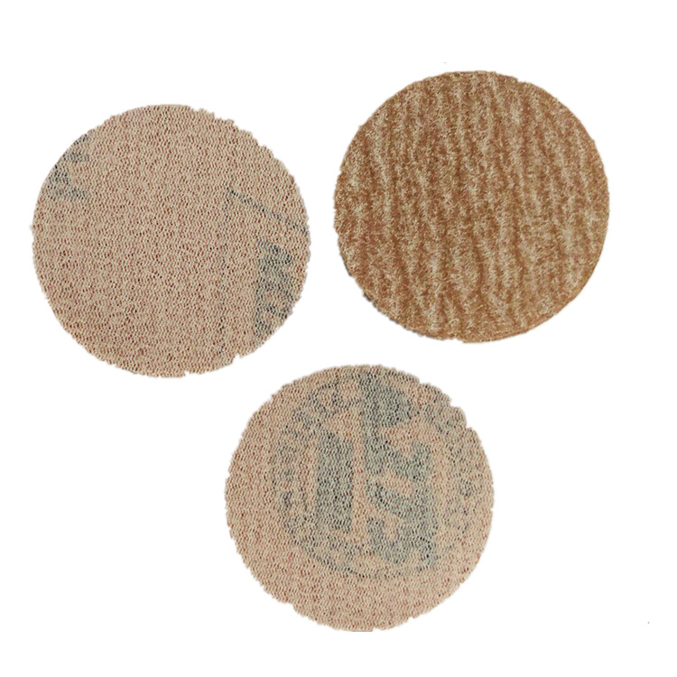 A275 Flocking Sandpaper Pieces NORTON 2-Inch Bei Rong Round Plates Napper Polishing Dry Grinding Sandpaper 80 #-1500 #