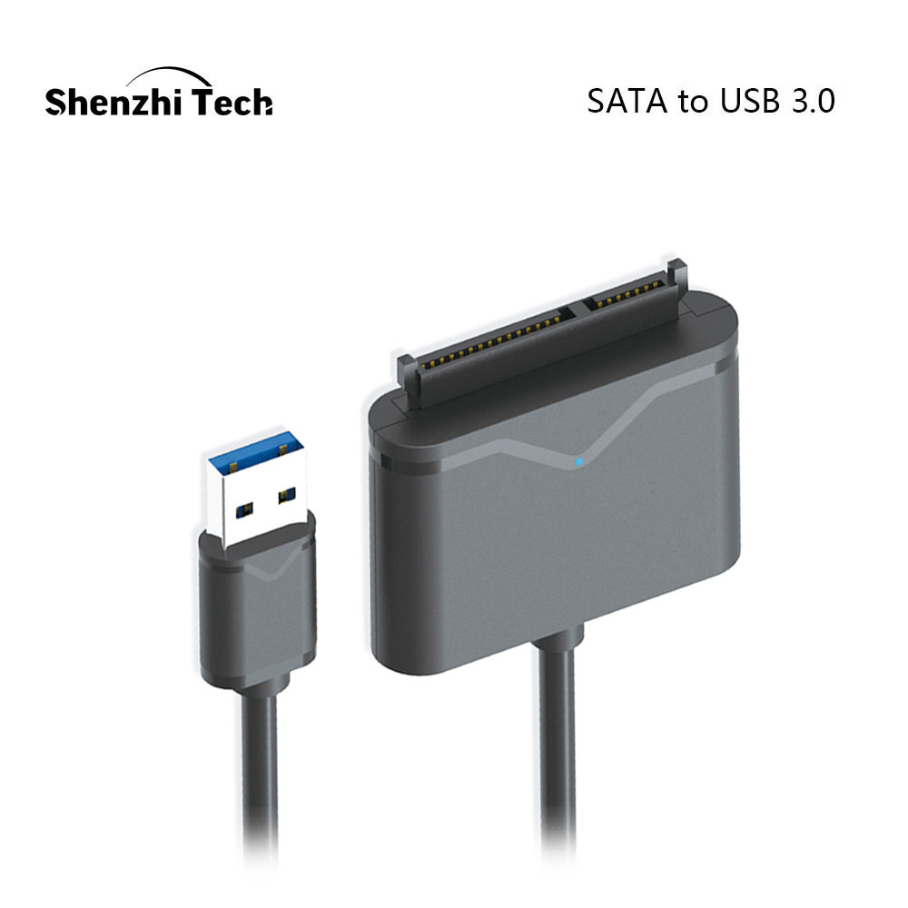"SATA to USB 3.0 Adapter SATA Cable for 2.5"" and 3.5"" SSD HDD External Hard Disk Drive-in Computer Cables & Connectors from Computer & Office"