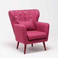 Furniture Modern Minimalist Bedroom Lazy Small Sofa Chair Nordic Creative Sofa Single Chair Padded Comfortable Sitting
