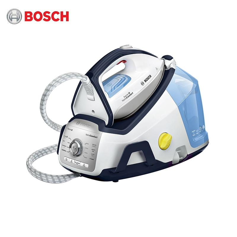 Steam Station Bosch TDS8060 steam generator iron for ironing garment laundry household appliances home steamer for clothes steam station russell hobbs 24420 56 handheld steamer for clothes steam generator for home steam cleaner home appliances steamer vertical