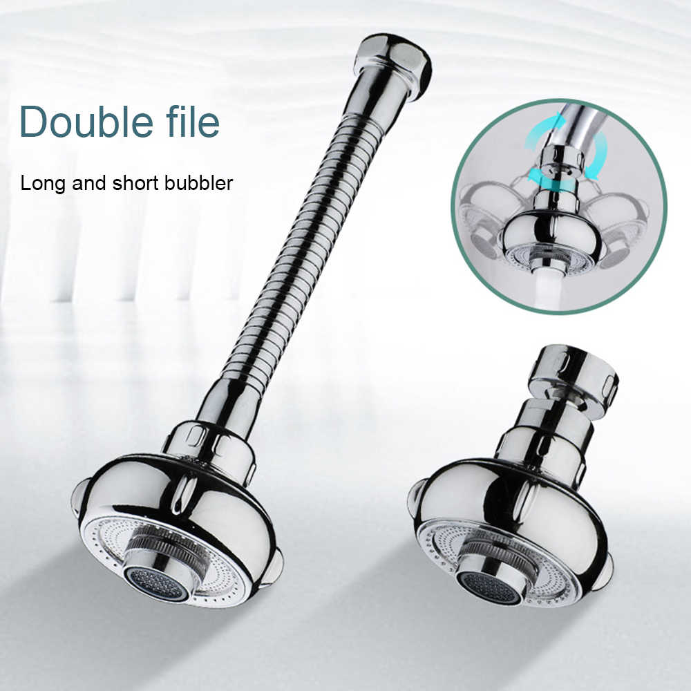 Faucet Filtered Faucet Accessories a//Silver//As Shown LXD Kitchen Shower Faucet Tap 3 Level Can Adjusting 360 Rotate Water Saving Bathroom Shower