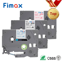 Fimax 3Pcs TZe FA3 TZ FA3 Compatible for Brother P touch Fabric Iron on tze tape TZeFA3 fa231 12mm Brother P touch Label Printer|Printer Ribbons| |  -
