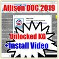 Диагностическое программное обеспечение v2019 new + Allison DOC Universal keygen