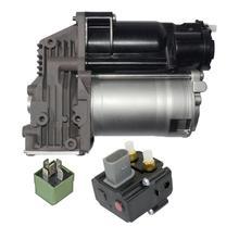 AP03 для BMW 5er E61 компрессор пневмоподвески контроль уровня подачи воздуха+ клапан 37106793778,37206792855