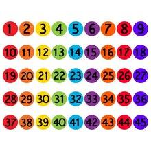 Классная Магия отметьте свои сидящие пятна ковра для обучения маркеры пятна для детей круг пятна на цифрах 1-36 маркеры ковра
