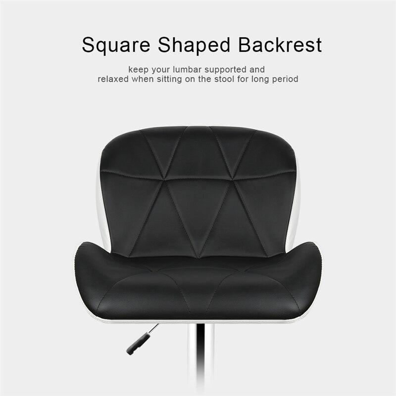 Closeout DealsHome Office Chair Swivel-Bar Height Adjustable Pneumatic-Pub Leisure HWC 2pcs/Set