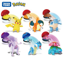 Echte Pokemon Box Set Pocket Monster Pokeball Vervorming Speelgoed Pikachu Venusaur Charizard Gyarados Mewtwo Anime Figuur Model