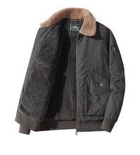 Manteau d'uniforme militaire en laine d'agneau pour homme, veste en coton de haute qualité, nouvelle collection hiver