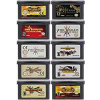 Video Game Cartridge Console Card 32 Bits Fire Emblem Series For Nintendo GBA image