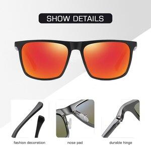 Image 5 - AOFLY ماركة تصميم الألومنيوم المغنيسيوم الاستقطاب النظارات الشمسية الرجال 2020 موضة ساحة القيادة الصيد مرآة نظارات شمسية الذكور UV400