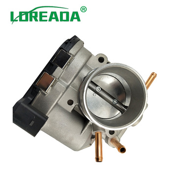 LOREADA New Throttle Body Assembly  06B133062S  06B133062H For Volkswagen Santana 3000A4  06B 133 062 S  06B 133 062 H sktoo for volkswagen langyi new santana polo beige interior headlamps reading lamp sunroof switch assembly