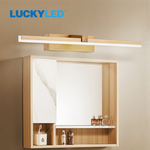 LUCKY LED Wall Lamp Bathroom Mirror Light 220v 110V 8W 12W Led Wall Light Waterproof Vanity Light Fixtures for Home Living Room
